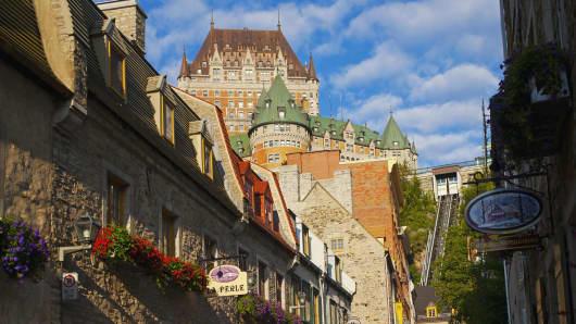 Quebec City, Quebec, Canada.