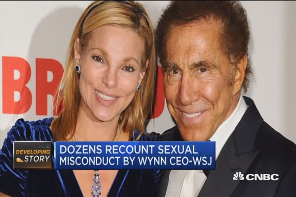 WSJ's Chris Kirkham: Wynn ex-wife not behind helping to expose sexual misconduct claims