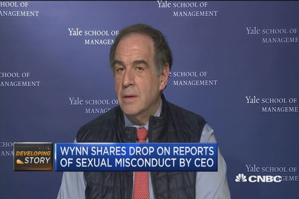 Expert: 'Terrible board' exposed at Wynn Resorts with Steve Wynn allegations