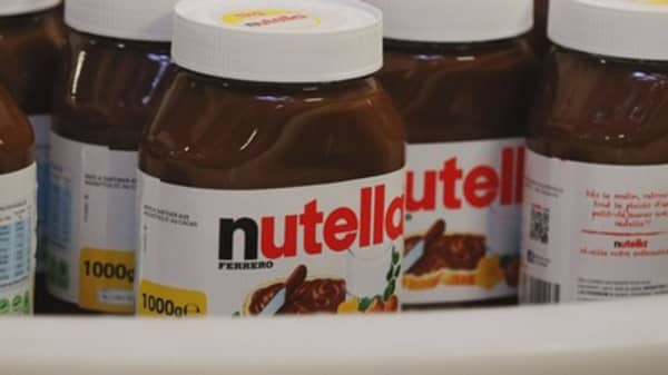 Nutella sales cause riots in France