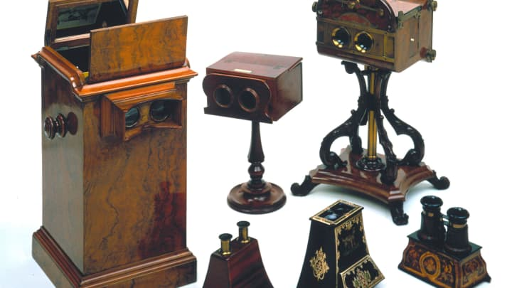 The popularity of stereoscopes was such that 250,000 of the devices were sold in Paris and London over a three month period in 1851.