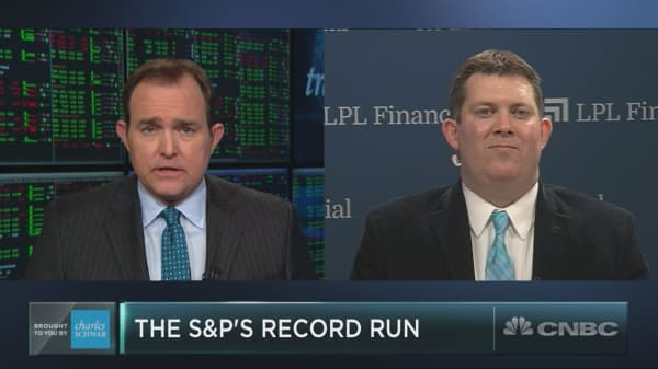 LPL's Detrick on what a rare S&P streak means for the market