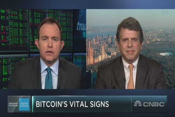 One of the first strategists to cover bitcoin believes it's here to stay