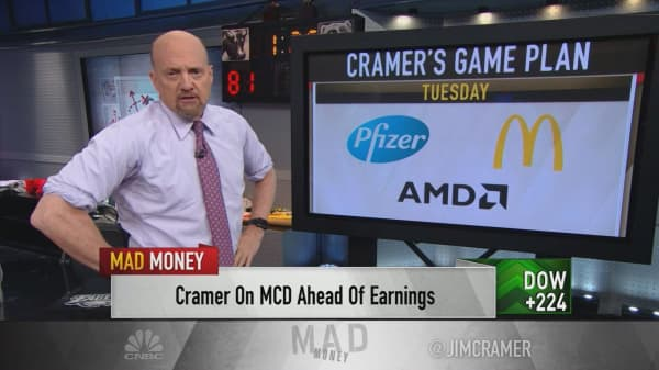 Cramer's game plan: Welcome to the Super Bowl of earnings