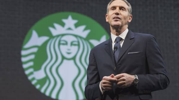 Starbucks' Howard Schultz: A new digital currency is coming