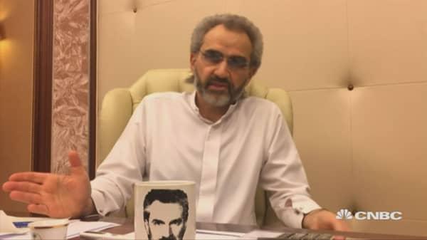Saudi Arabia's Prince Alwaleed in detention