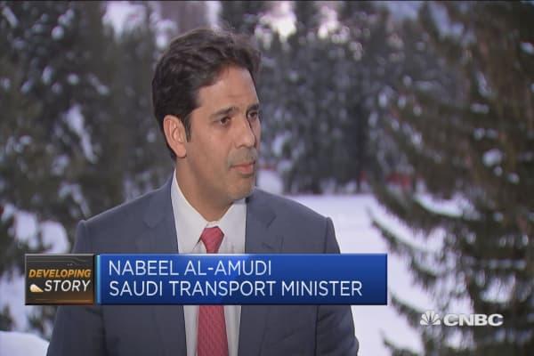 Saudi transport minister: Kingdom going through 'massive changes'