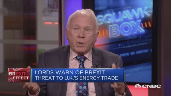 Lord Rooker: Brexit could risk UK energy supply shortages