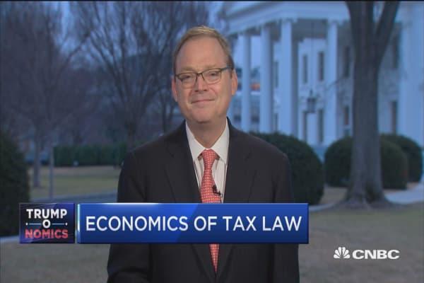 Tax bill boosts bonuses sooner than expected: CEA chairman
