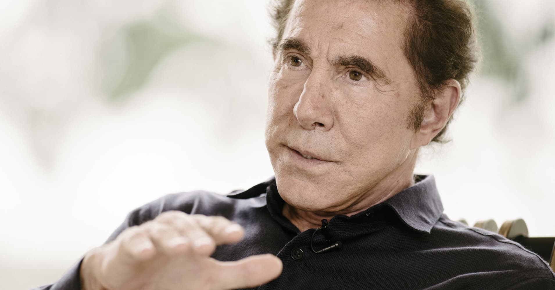 Wynn shares plunge as wall street says the bottom is farther from steve wynn chairman and chief executive officer of wynn resorts ltd biocorpaavc