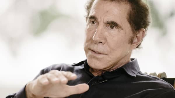 Steve Wynn, chairman and chief executive officer of Wynn Resorts Ltd.