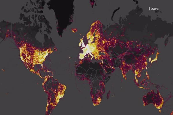 A global heat map for joggers is exposing sensitive US military information