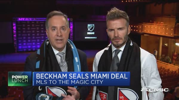 David Beckman seals Miami Major League Soccer deal