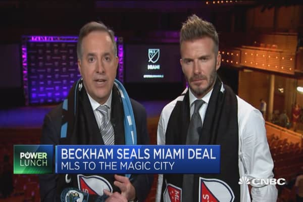 David Beckman seals Miami Major League Soccer deal