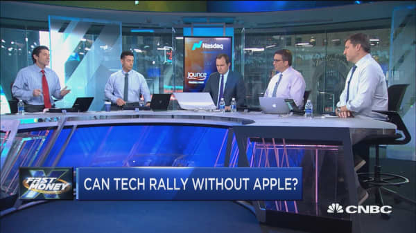 Can tech still rally without Apple?