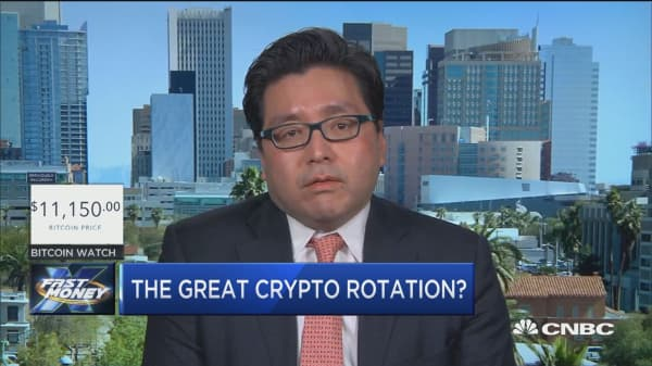 Fundstrat's Tom Lee sees a great crypto rotation occurring