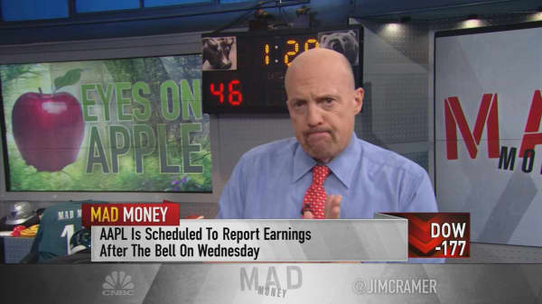 Cramer: Use the earnings 'damage' to your advantage this week