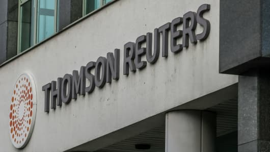 Blackstone in Talks Over Deal With Thomson Reuters Unit