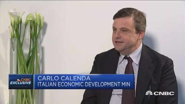 Calenda: Key priorities would be the same as Padoan's