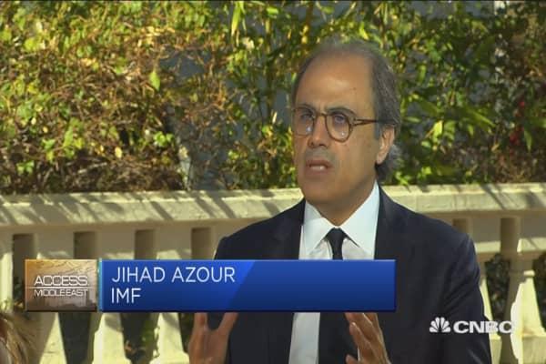 IMF's Azour: MENA regions still need attention