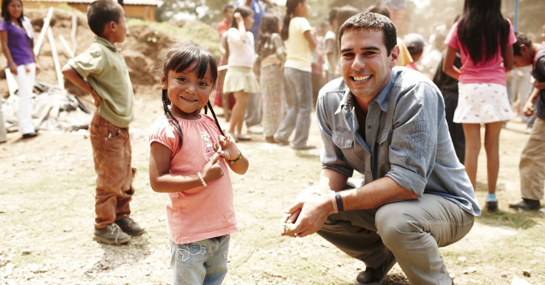 Adam Braun, the founder of Pencils of Promise