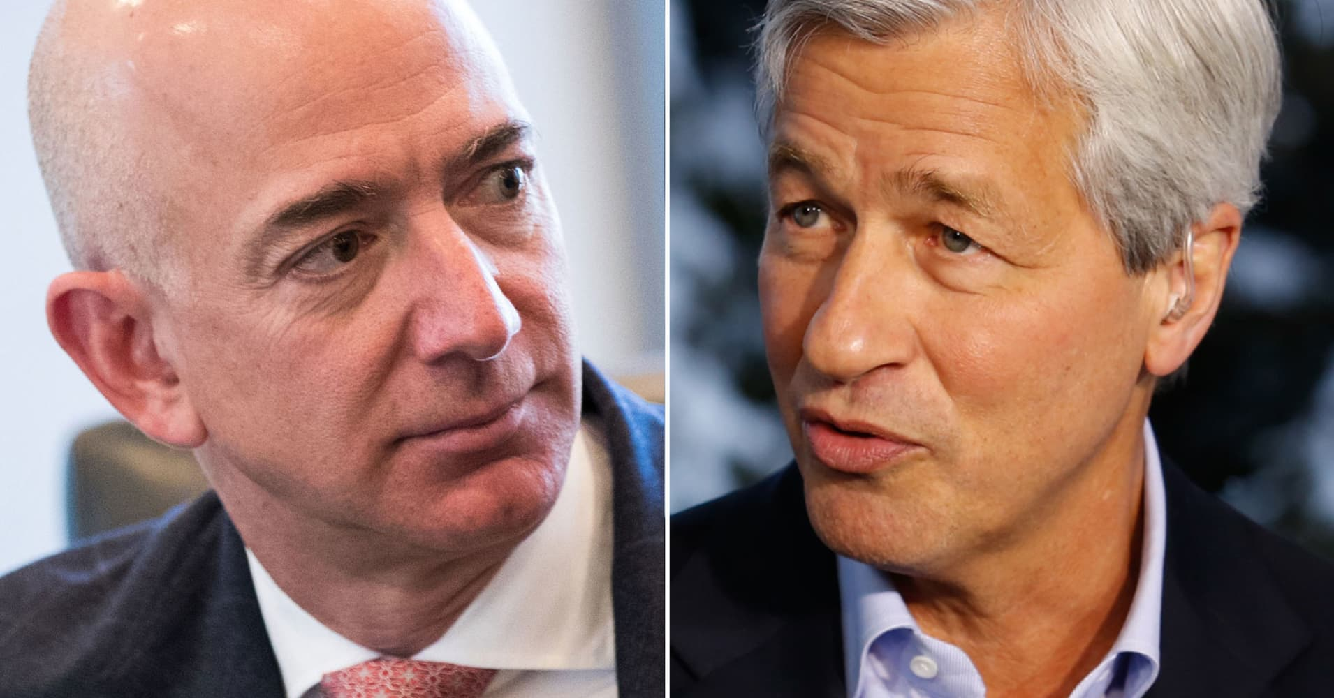 Jamie Dimon Once Talked to Jeff Bezos About Taking a Job at Amazon