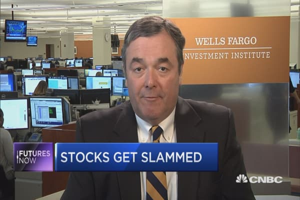 Market selloff presents an opportunity for investors, says Wells Fargo