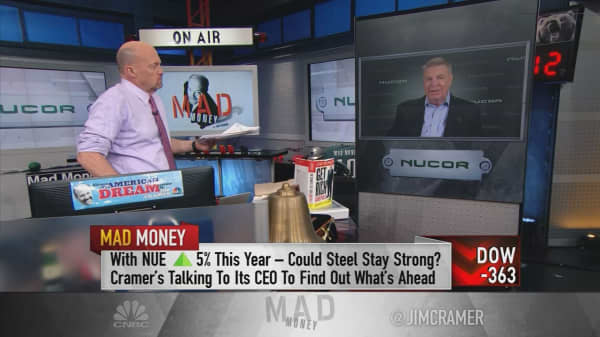 Top steel CEO says US 'desperately' needs new infrastructure to sustain economic boom