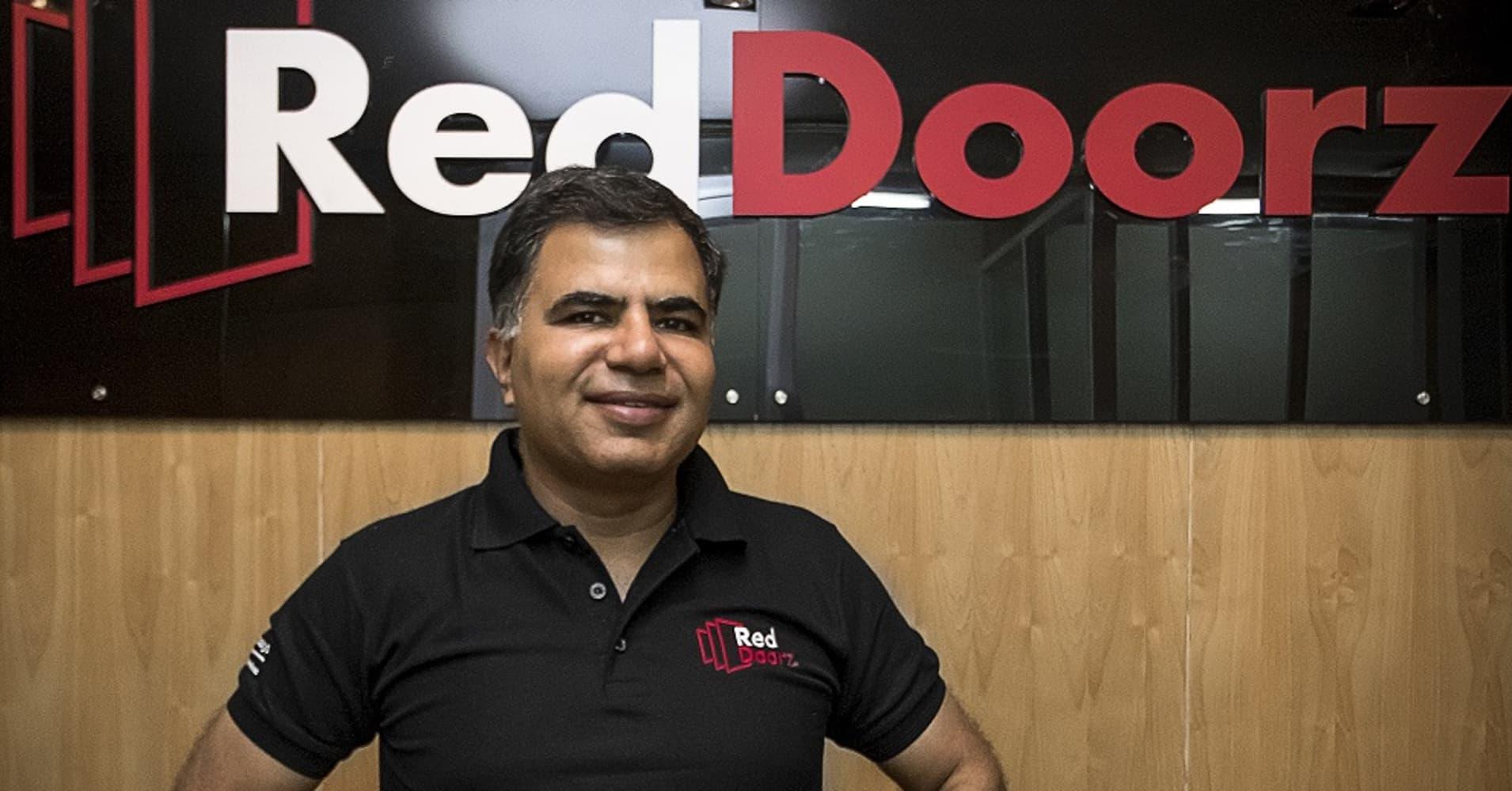 Amit Saberwal, founder and CEO of RedDoorz