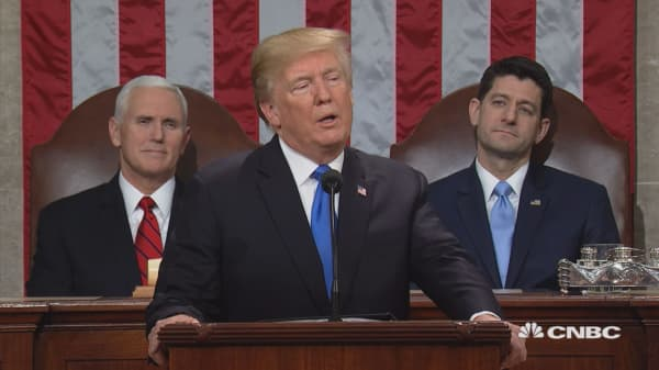 President Trump's 1st State of the Union