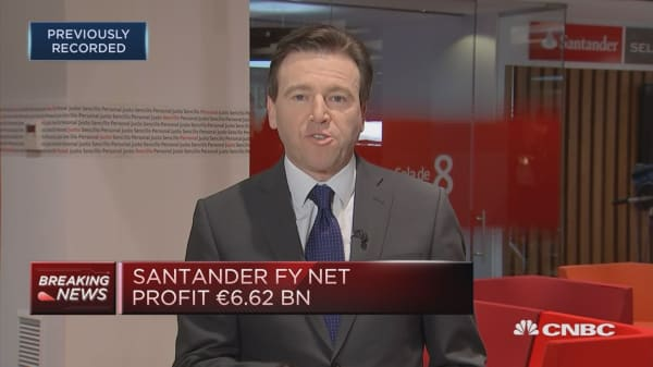 Santander: Remain confident to achieve all 2018 targets