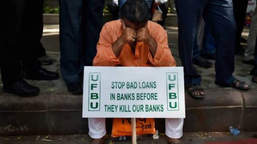 India's banks have a bad loan problem, but financial ...