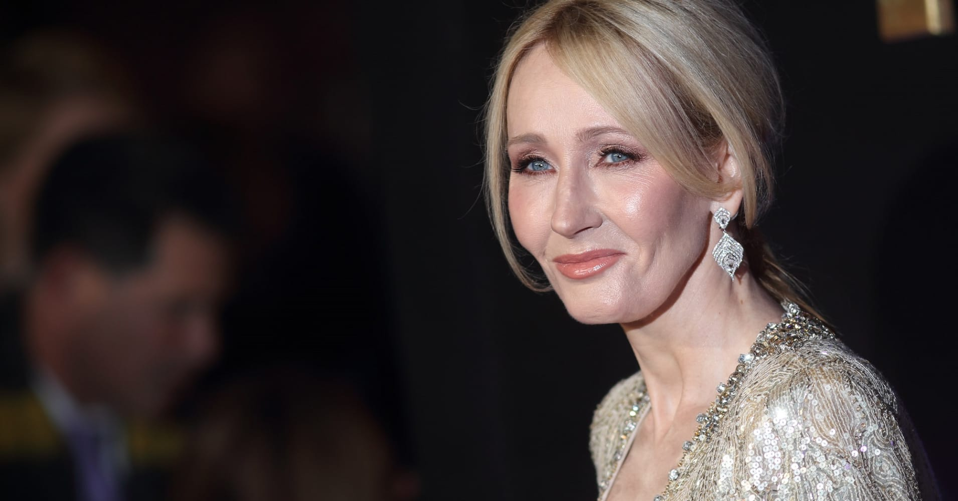 J.K. Rowling attends the European premiere of 'Fantastic Beasts And Where To Find Them' at Odeon Leicester Square on November 15, 2016 in London, England.