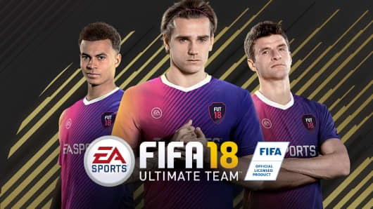 Ultimate Team FIFA 2018.