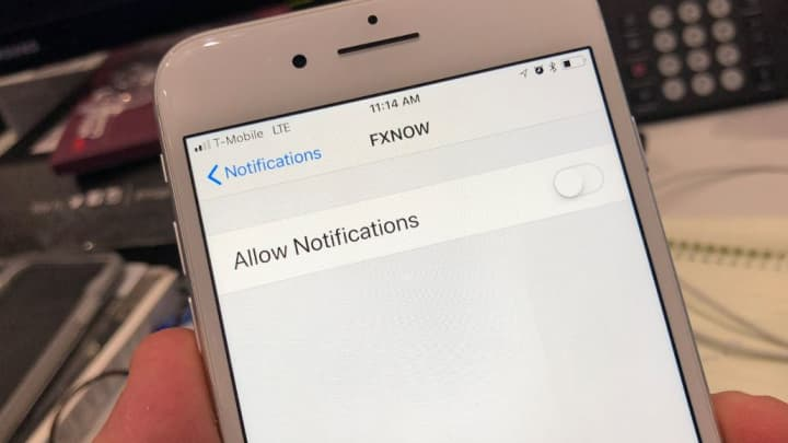 Turn off Push Notifications