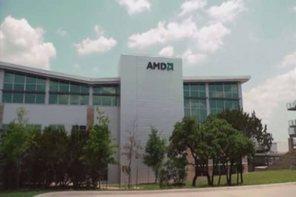 AMD shares are surging on Wall Street praise
