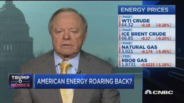 North Dakota's oil fields 'stronger than ever,' says Harold Hamm