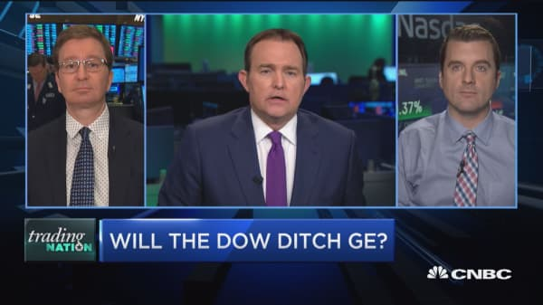 Trading Nation: Will the Dow ditch GE?