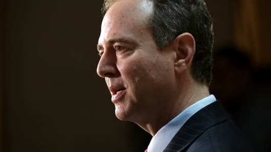 House Intelligence Committee ranking member Rep. Adam Schiff (D-CA)