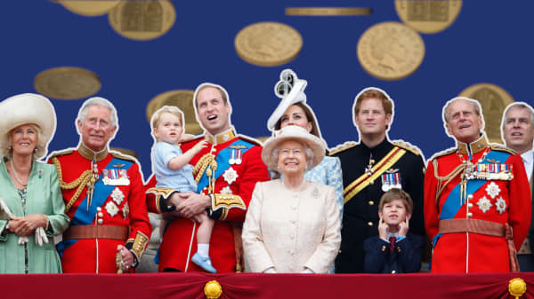 Even the British royal family does its best to save money