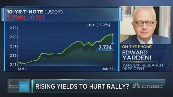 Ed Yardeni on what rising yields reveal about the economy