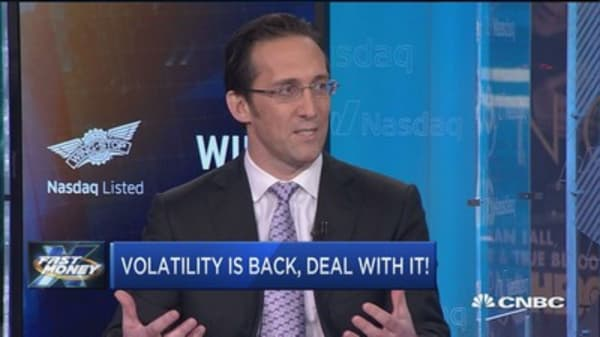 Strategist: Volatility is back, deal with it