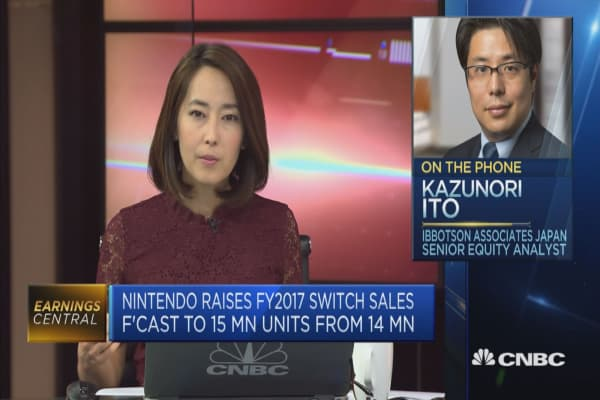 This analyst sees more upside for Nintendo in 2018