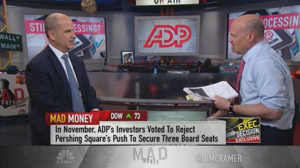 ADP CEO: Ackman proxy fight 'water under the bridge'