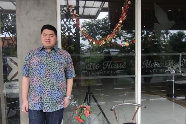 Justin Giovanni, a Surabaya, Indonesia hotel owner and RedDoorz partner