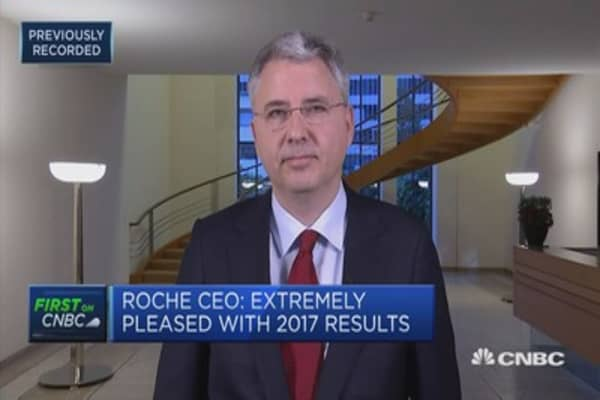 We're seeing continued growth in the United States: Roche CEO