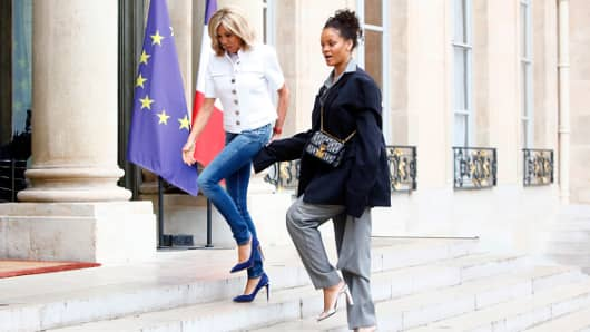 Macron and Rihanna to reunite in Africa for education drive