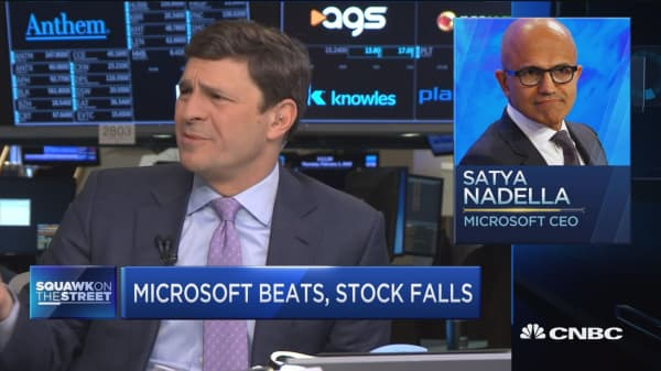 Jim Cramer says he'd rather own Microsoft than Alibaba. Here's why