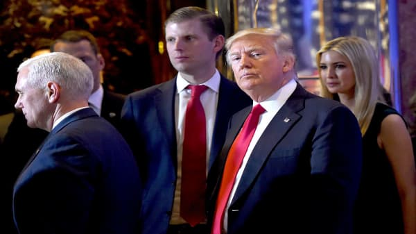 Eric Trump: Our country is richer because of President Trump's policies