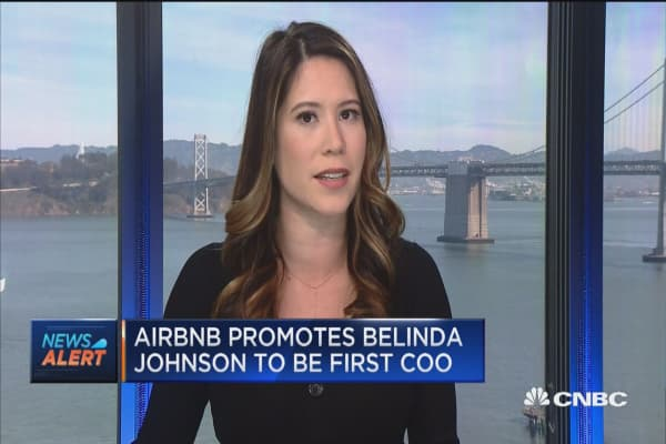 Airbnb CFO leaving, firm won't IPO in 2018
